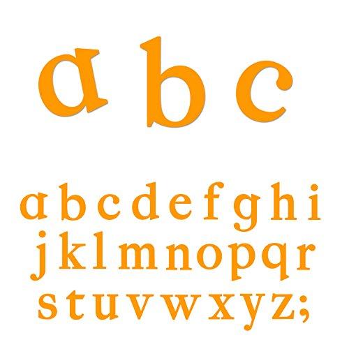 Ellison Classic Lowercase Letters Sure Cut Die Set by Ellison