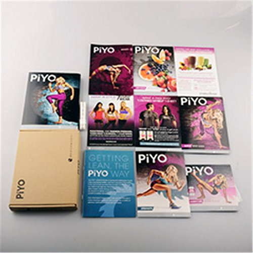 PiYo Base Kit - 5 DVD Workout with Exercise Videos + Fitness Tools and Nutrition Guide