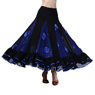 Jupe Longue Pour Jupe Flamenco Gitane Pour Gitane Jupe Longue Flamenco Longue Gitane yYgf76b