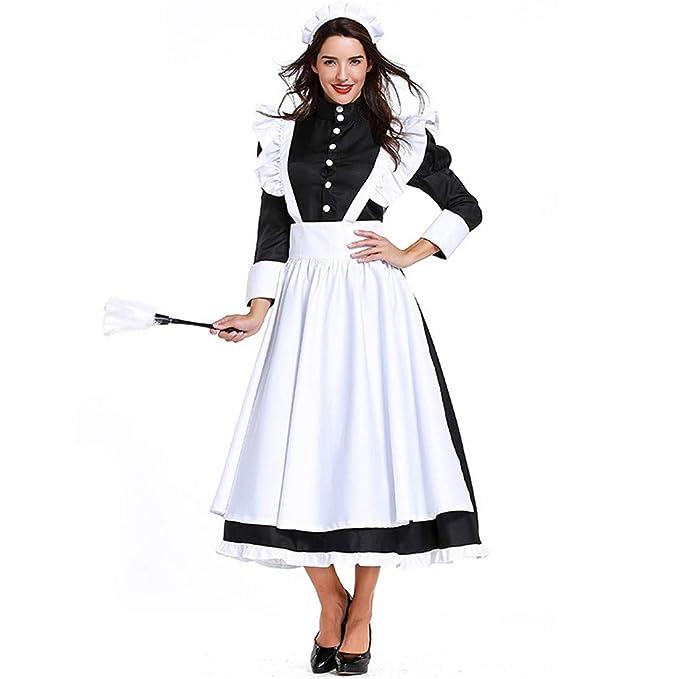 Amazon.com: Momo Mujer Pilgrim Vestido Victoriano Maid ...