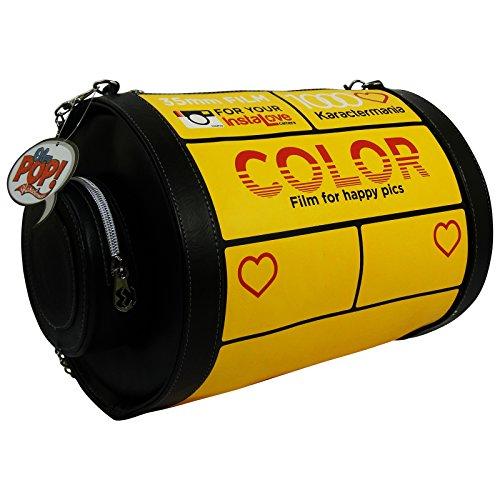 Borsa Rullino Kodak Borsa a Mano da Donna Tracolla Borsa a Spalla