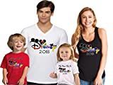 Go.Custom Disney Trip Matching Family Vacation Shirt in Different Styles and Colors L Adult