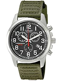 Men's Eco-Drive Chronograph Watch with Date, AT0200-05E