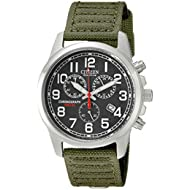 [Sponsored]Men's Eco-Drive Chronograph Watch with Date, AT0200-05E