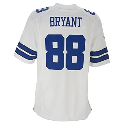 43da36b24 Amazon.com   Nike Men s Dallas Cowboys Dez Bryant Jersey - White ...