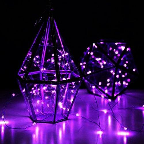 LED SopoTek 7ft 20 LEDS Purple Starry Lights Fairy Lights Si