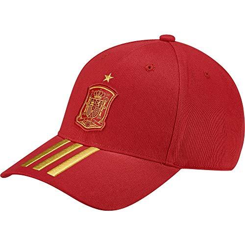 adidas FEF 3S Gorra, Hombre, Rojo (dorfue), Talla única: Amazon.es: Deportes y aire libre