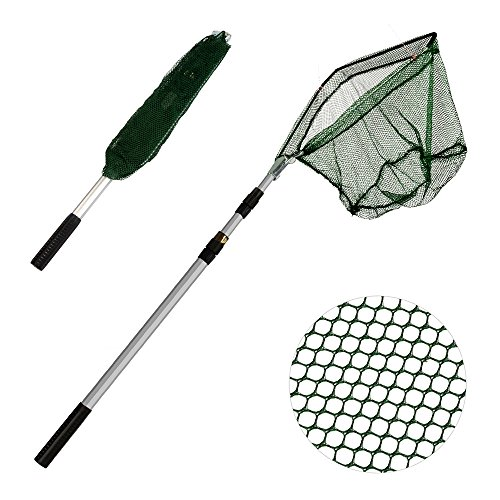 xunma Fishing Landing Net with Telescoping Pole Handle,67 Inch
