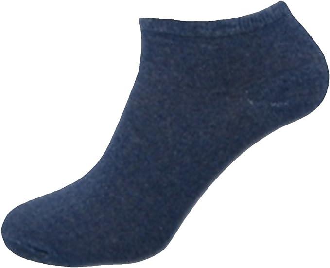 3 Mens Assorted Active Sport Cotton Rich Trainer Liner Socks UK 6-11
