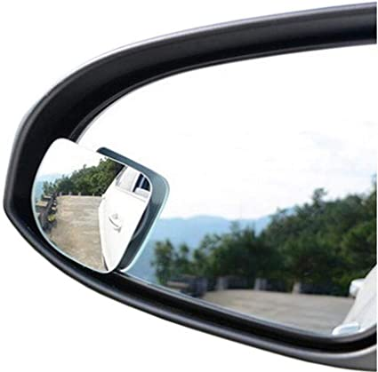 Wide Angle Side Round Convex Mirror Rearview Mirror Car Vehicle Blind Spot Mirror Security Auxiliary Lens