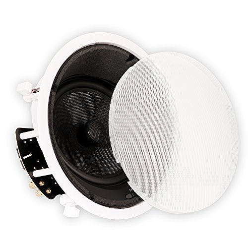 Theater Solutions TSS8A 8-Inch Angled Ceiling Speaker (White) by Theater Solutions