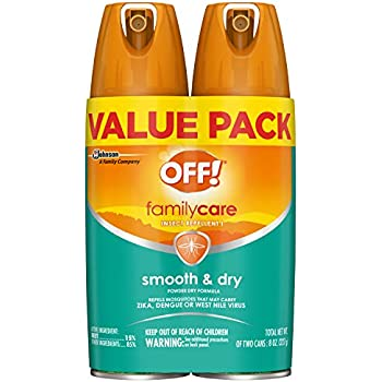 OFF! FamilyCare Insect Repellent I Smooth & Dry, 2 ct, 4 oz