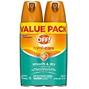 OFF! Family Care Insect & Mosquito Repellent I, Smooth & Dry Bug Spray for the Beach, Backyard, Picnics and More, 4 oz…