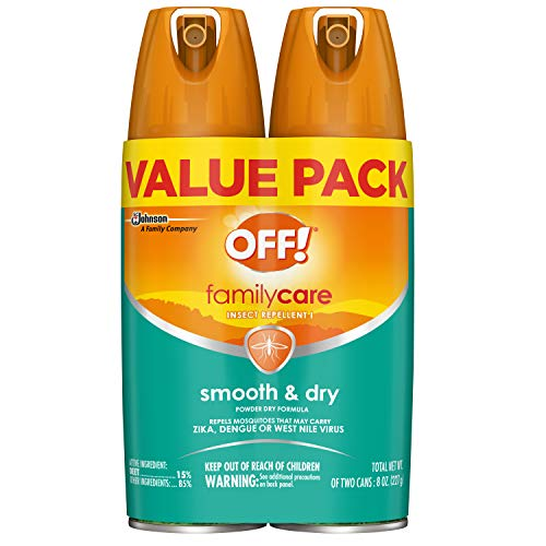 - OFF! FamilyCare Insect Repellent I Smooth & Dry, 2 ct, 4 oz