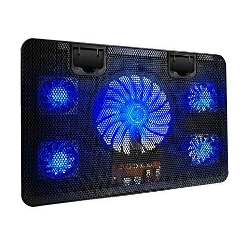 5 fan laptop cooling pad - 5
