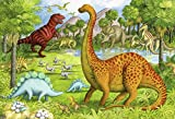 Ravensburger Dinosaur Pals - 24 Piece Floor Jigsaw Puzzle for Kids – Every Piece is Unique, Pieces Fit Together Perfectly