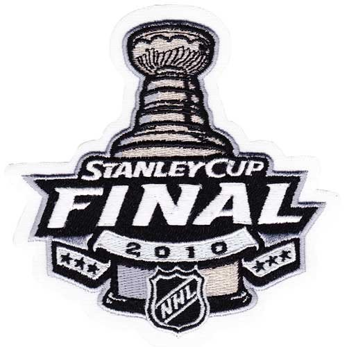 2010 NHL Stanley Cup Final Patch Chicago Blackhawks vs. Philadelphia Flyers ()