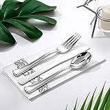 800 Piece Silver Dinnerware Set-200 Silver