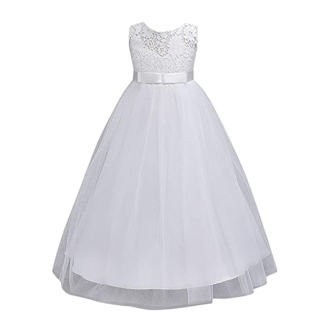 Oyeden Bambine Principessa Eleganti Abiti Bambina Partito Swing Vestito  Festa Vestito  Amazon.it  Abbigliamento 3ecb616e98e