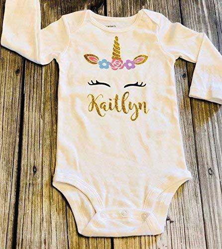 1bc7ee5785a5 unicorn baby bodysuit unicorn birthday - birthday outfit - customized  bodysuit - birthday bodysuit - girls first birthday 1st birthday unicorn  party ...