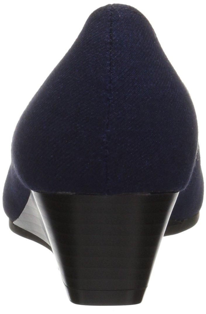 Aerosoles A2 Women's First Love Pump, Navy Fabric, 11 M US by Aerosoles (Image #2)