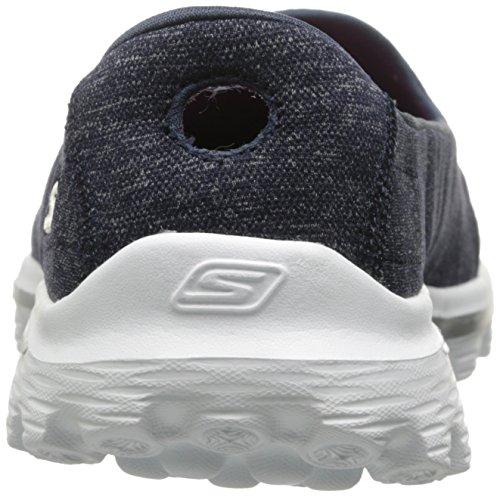 Skechers rendimiento GB, escalón 2 Bind-Slip de encendido on calzado Multicolor - Navy/White