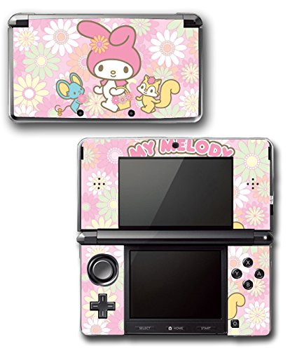My Melody Cute Pink Hello Kitty Video Game Vinyl Decal Skin Sticker Cover for Original Nintendo 3DS System