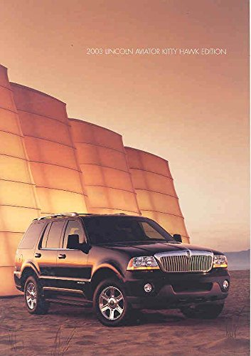 2003-lincoln-aviator-kitty-hawk-edition-sales-brochure
