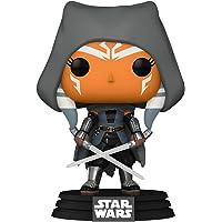 Funko Pop! Star Wars: The Mandalorian - Ahsoka (Hooded), Amazon Exclusive Multicolor