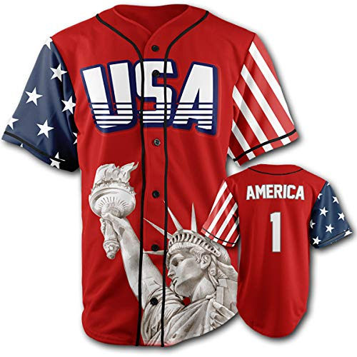 USA Red America #1 XL