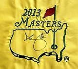 Adam Scott Signed 2013 Masters Flag Augusta