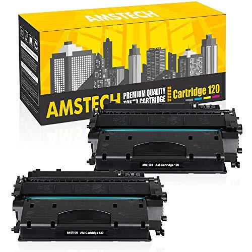 Amstech Compatible Toner Cartridge Replacement for Canon 120 CRG-120 Cartridge 120 Canon Imageclass D1550 D1520 D1320 D1120 D1350 D1150 D1370 D1170 D1180 Canon D1520 D1550 Ink Toner Printer (2-Black) ()