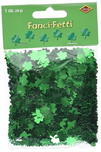 Fanci-Fetti Shamrocks (green) Party Accessory  (1 count)