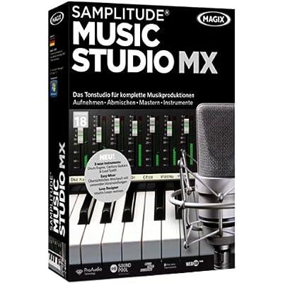 Magix Samplitude Music Studio MX - Software de edición de audio/música (4403 MB, 1024 MB, 1500 MHz, 1 usuario(s), Caja, DEU)