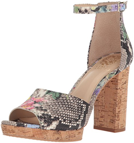 Vince Camuto Women's Ciestie Heeled Sandal, Multi Violet, 6.5 Medium US by Vince Camuto