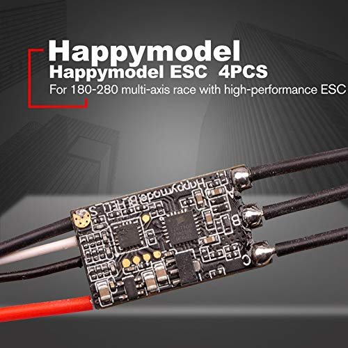 Wikiwand 4PCS Happymodel XS25A BLHELI_S ESC for 180mm to 280mm FPV RC Racing Drone by Wikiwand (Image #3)