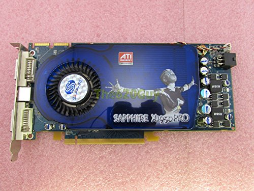 Sapphire ATI X1950 PRO 512MB 256-Bit GDDR3 Dual DVI/TV Out PCIe x16 Video Card