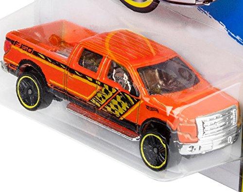 Mattel Orange 2014 Hot Wheels Hw Off-Road 2009 Ford F-150