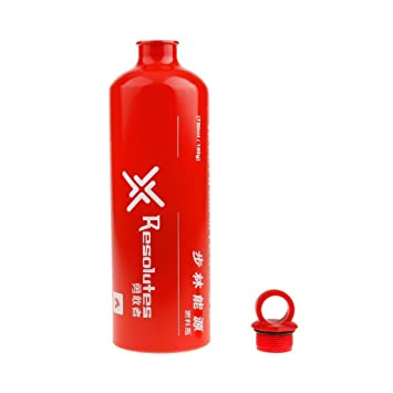 Yundxi Al Aire Libre Camping Viaje Picnic Gas Aceite Botella vac/ía de Combustible Motocicleta de Emergencia Puede 0.5L 0,75/l de Almacenamiento de Gasolina 1l 1.5L