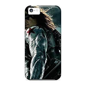 Rosesea Custom Personalized Ideal RentonDouville Cases Covers For Iphone 5c the Winter Soldier, Protective Stylish Cases