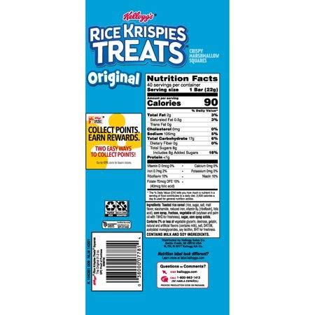 33 Rice Krispie Ingredient Label - Labels Database 2020