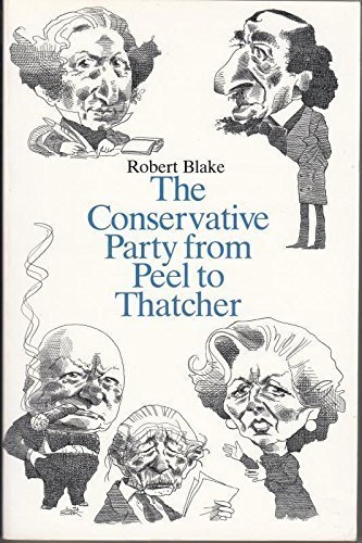 The Conservative Party from Peel to -