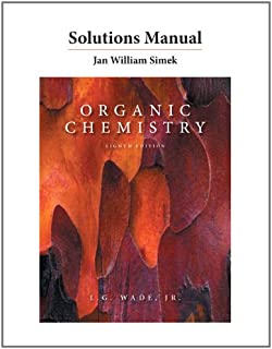 Amazon organic chemistry with mastering chemistry and solution solutions manual for organic chemistry fandeluxe Gallery