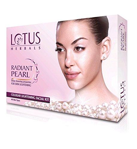 Lotus Herbals Radiant Pearl Cellular Lightening Facial Kit 37g Mini