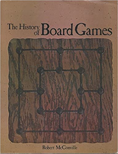 The History of Board Games, McConville, Robert