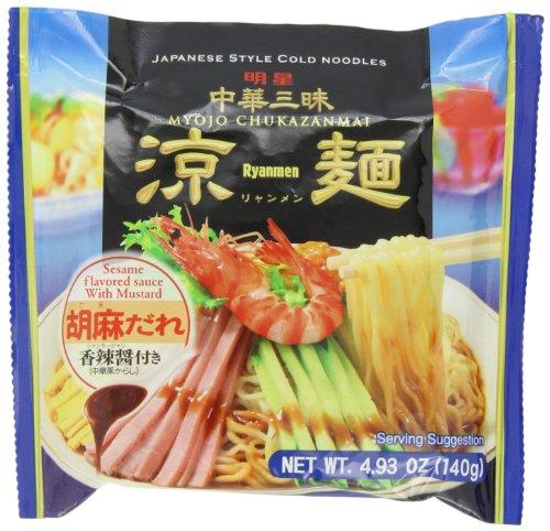 Myojo Chukazanmai Hiyashi Chuka Instant Cold Noodles, 4.93-Ounce (Pack of 6)