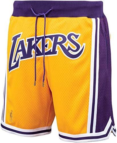 Lebron James Shorts with Pockets canottejerseyNBA jerseyNBA Los Angeles Lakers Just Don Shorts
