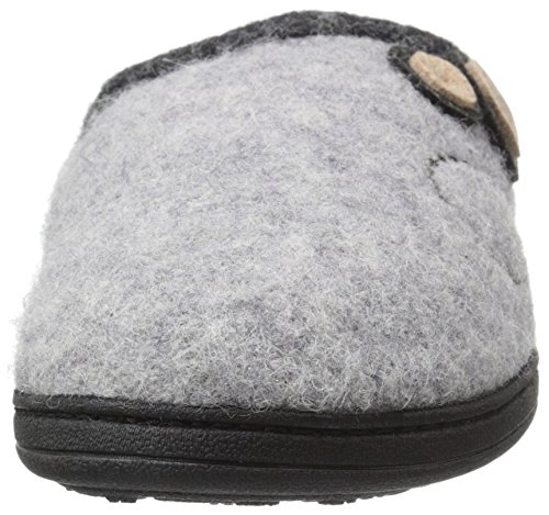 Dara Dara Womens Grey Button Grey Womens Slipper ACORN Light Button Slipper ACORN ACORN Dara Slipper Light Womens x7qRwFA8