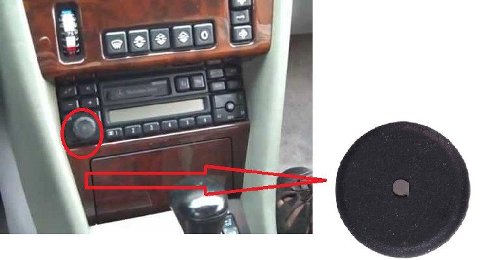 W140 W124 RADIO VOLUME KNOB BUTTON 1991-1998 1984-1993