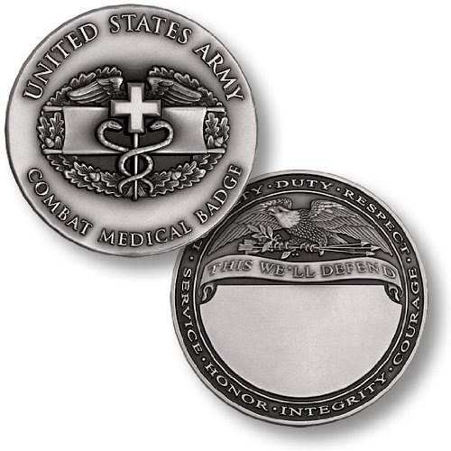 Engravable Challenge Coin - 8